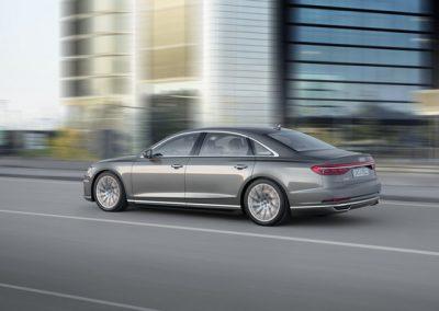 Audi A8 side