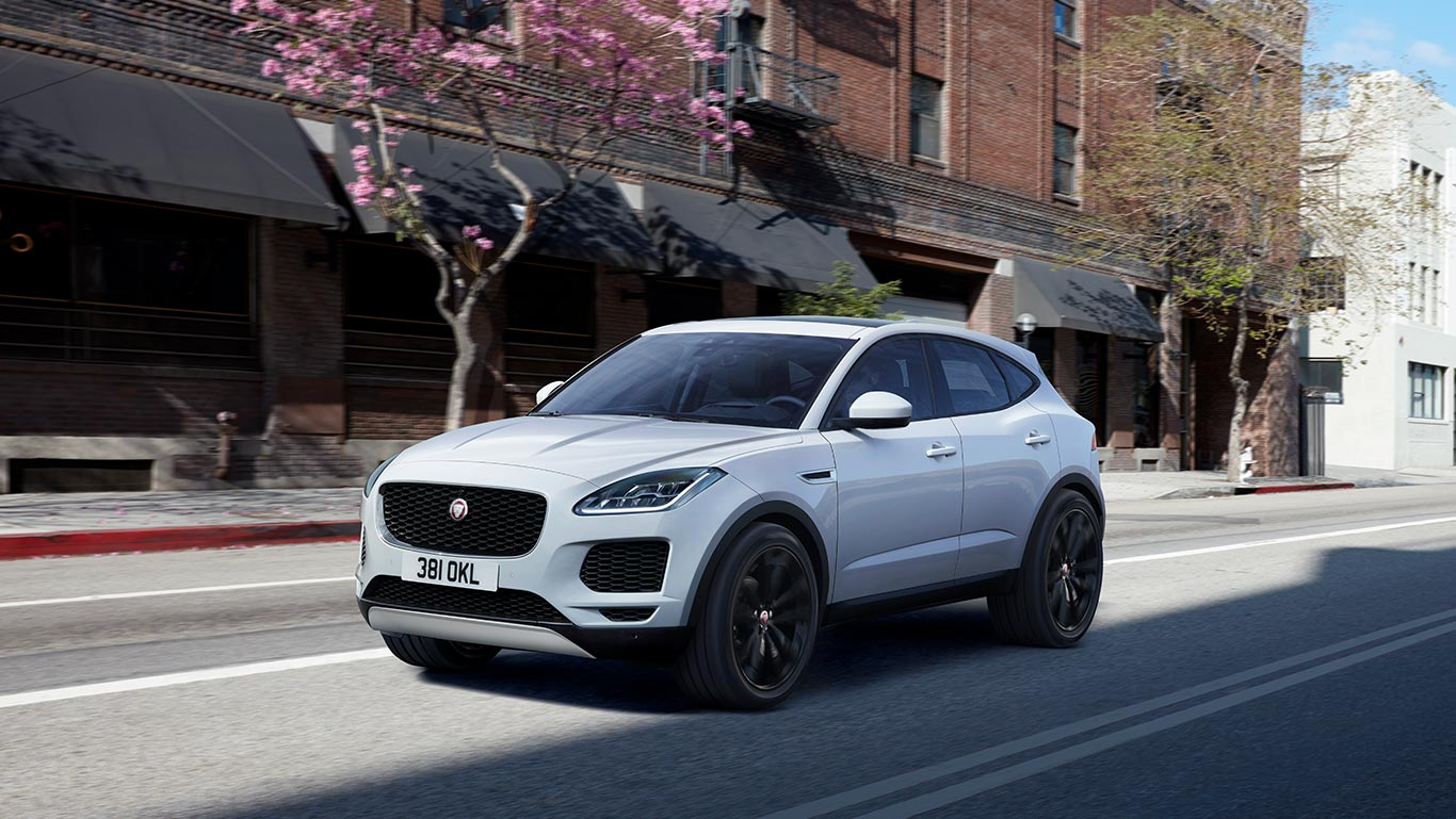 jaguar e pace is de kleine suv leaseaholic. Black Bedroom Furniture Sets. Home Design Ideas
