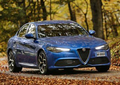 Alfa Romeo Giulia leaseauto 2017