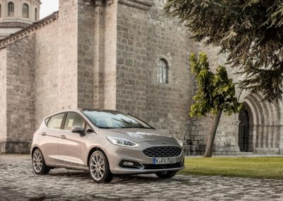 Ford Fiest Vignale lease front
