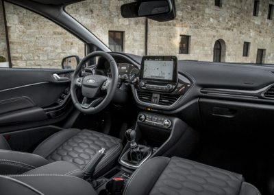 Ford Fiest Vignale lease interior