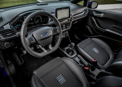 Ford Fiesta ST-Line lease interior