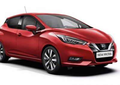 Nissan Micra private leaseauto 2017