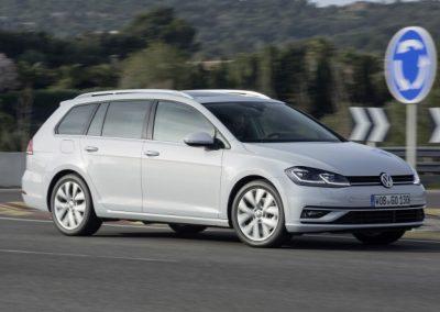 Volkswagen Golf Variant Bluemotion lease zijkant