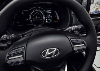 Hyundai Kona Electric dashboard