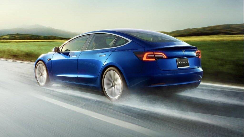 Tesla Model 3 niet met lage bijtelling